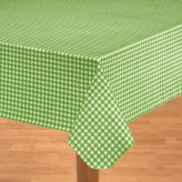 Gingham Oilcloth - Checkered Tablecloths - Kitchen ...