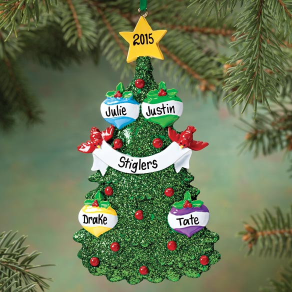 Personalized Christmas Tree Ornament Ornaments Walter