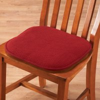 Memory Foam Chair Pads, Set of 2 - Foam Cushions - Seat ...