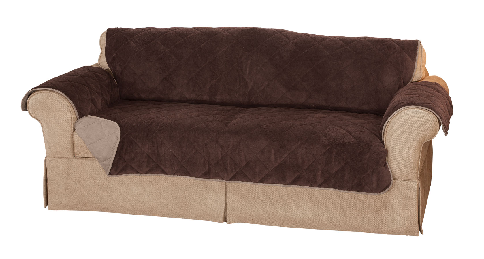 waterproof sofa protector costco bed plush to suede xl by oakridge