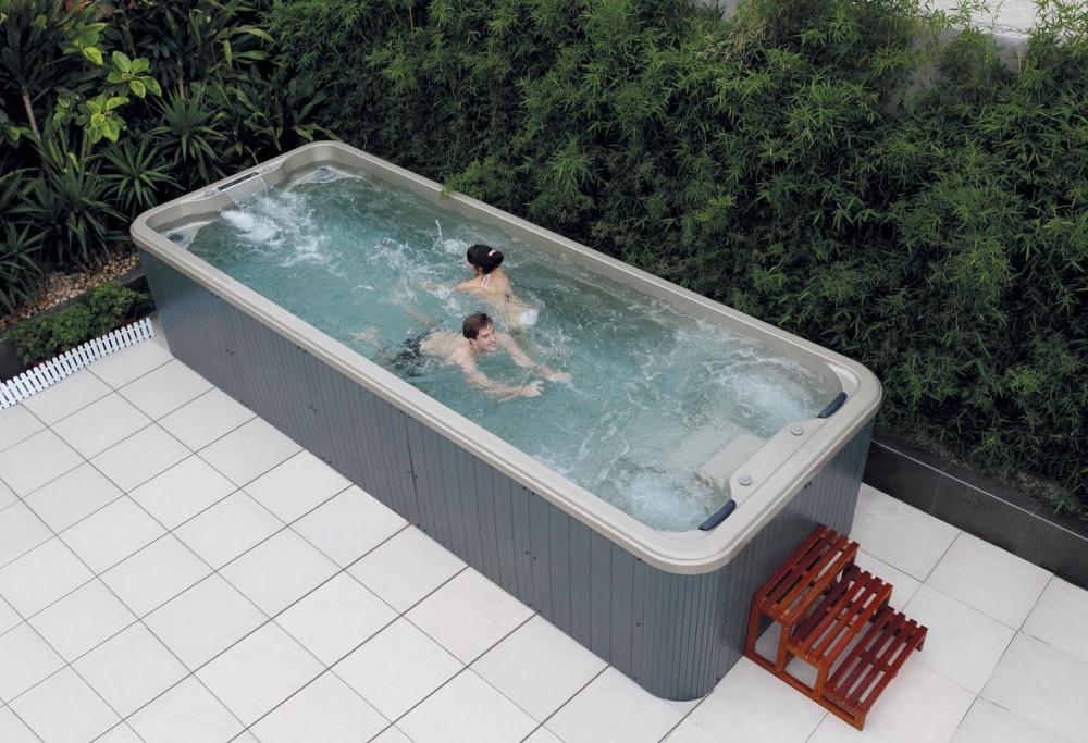 Piscina de hidromasaje swim spa AT005