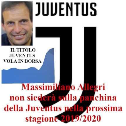 Massimiliano Allegri via dalla Juventus