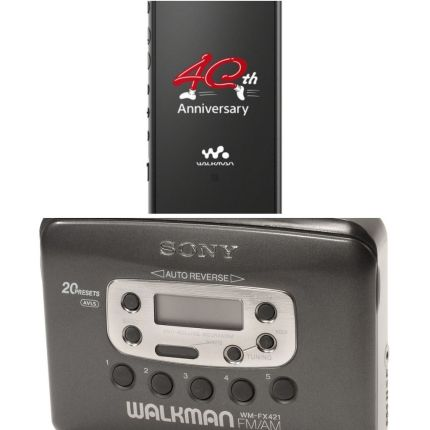 Torna il Walkman Sony