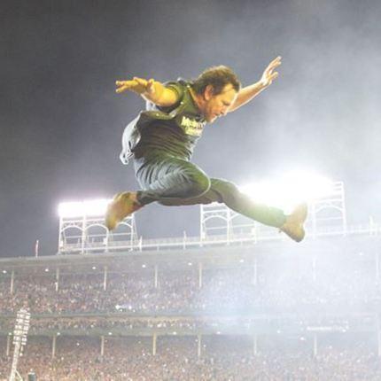 Eddie Vedder dei Pearl Jam compie 55 anni foto