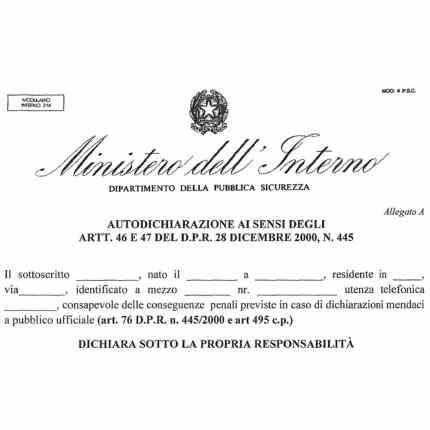 Modulo autocertificazione 23 marzo 2020 Autodichiarazione spostamenti in Italia con coronavirus