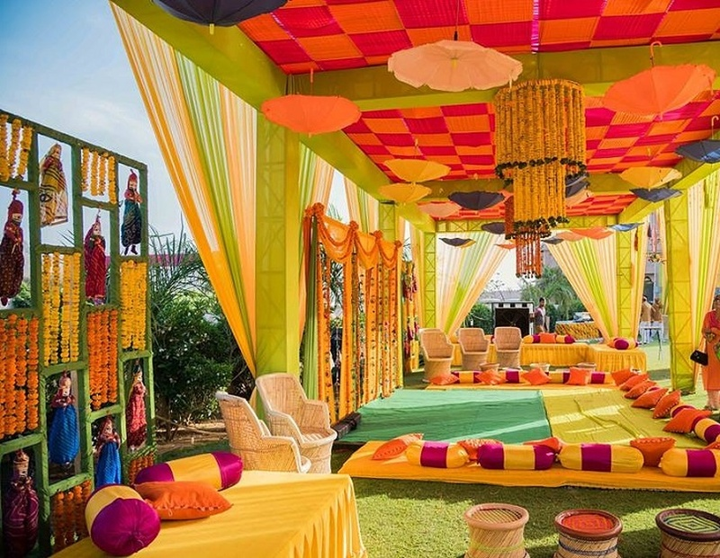 7 Mehndi Décor Ideas That Your Wedding Function Is Incomplete Without Mehndidays