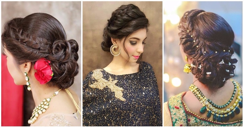 6 braided bun hairstyles that are simply ah mazing for indian wedding functions