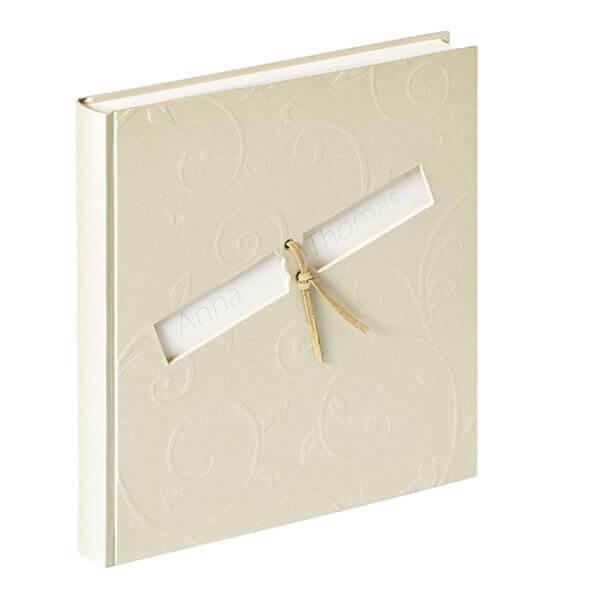 Fotoalbum personalisiert  filigrane Ornamente  weddixde