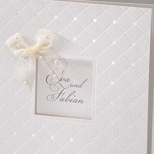 Einladungskarte Alice  traumhafte Karte zur Hochzeit
