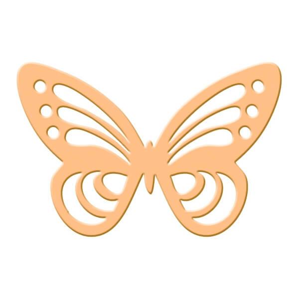 Motivstanzer Schmetterling  Bastelidee zur Hochzeit  weddixde