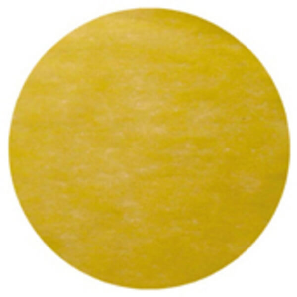 Platzset Kreis in Gelb  weddixde