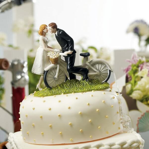Tortenfigur Fahrrad fr Ihre Hochzeitstorte  weddixde