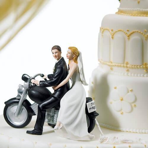 Tortenfigur Motorrad  weddixde