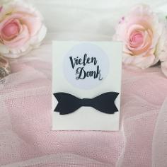 Hochzeitsmandeln als Gastgeschenk  weddix