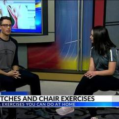 Chair Exercises On Cable Tv Leather Professor Workout Wednesday Hip Stretches And