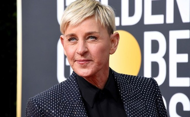 Ellen Degeneres Gives Hilarious And Poignant Speech As She