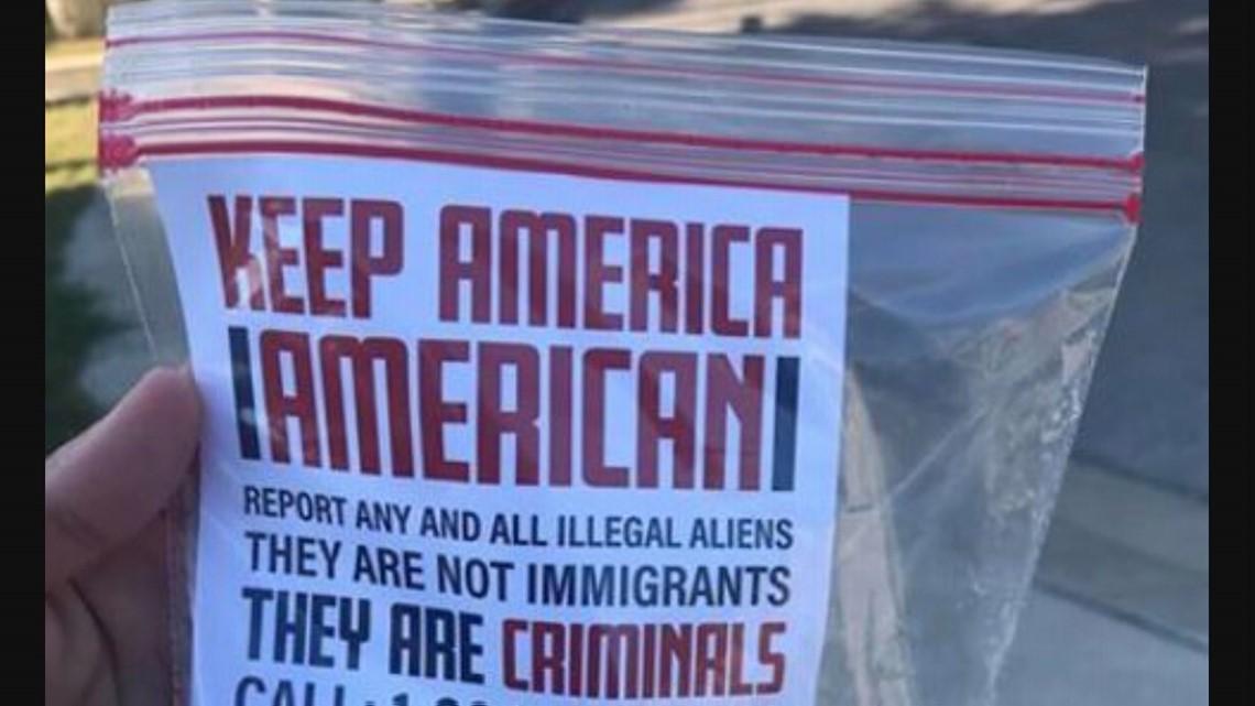 Antiimmigrant propaganda found in quiet San Antonio neighborhood  wfaacom