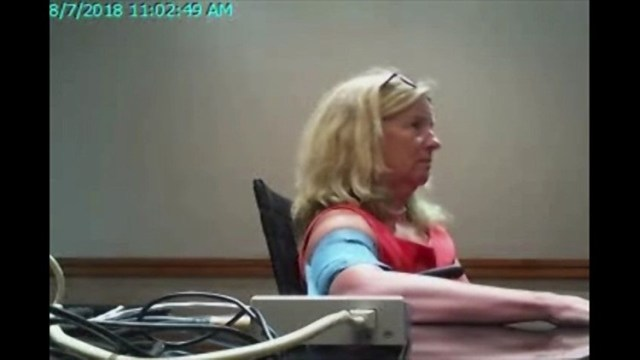 Ford PolyFord taking a polygraph exam on Kavanaugh allegations