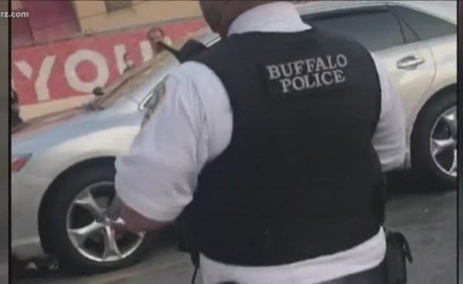 Buffalo Police Suspends Officer Recorded Verbally