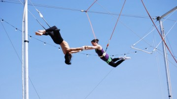 flying trapeze in stellenbosch