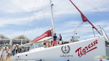 Tigresse sailing catamaran