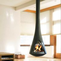 Ceiling Hung Wood Burning Stoves - Home Design
