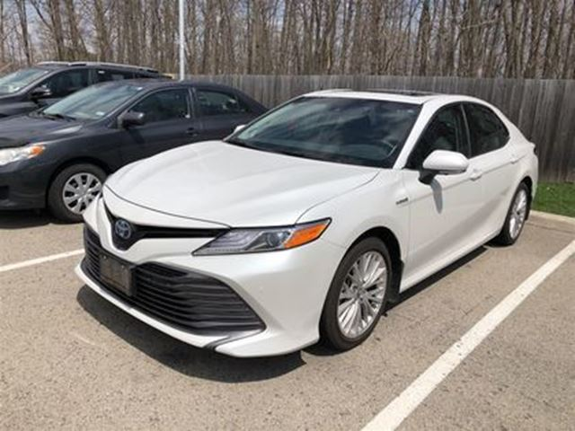 all new camry hybrid brand toyota muscle used 2018 i 4 cy xle company demonstrator car images