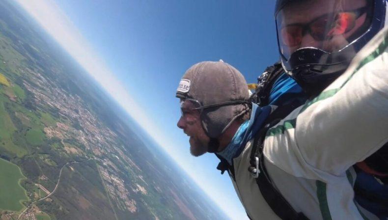Fantastisk känsla att flyga!