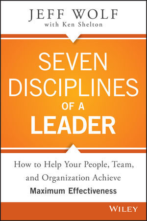 Jacket image, Seven Disciplines of a Leader by Jeff Wolf