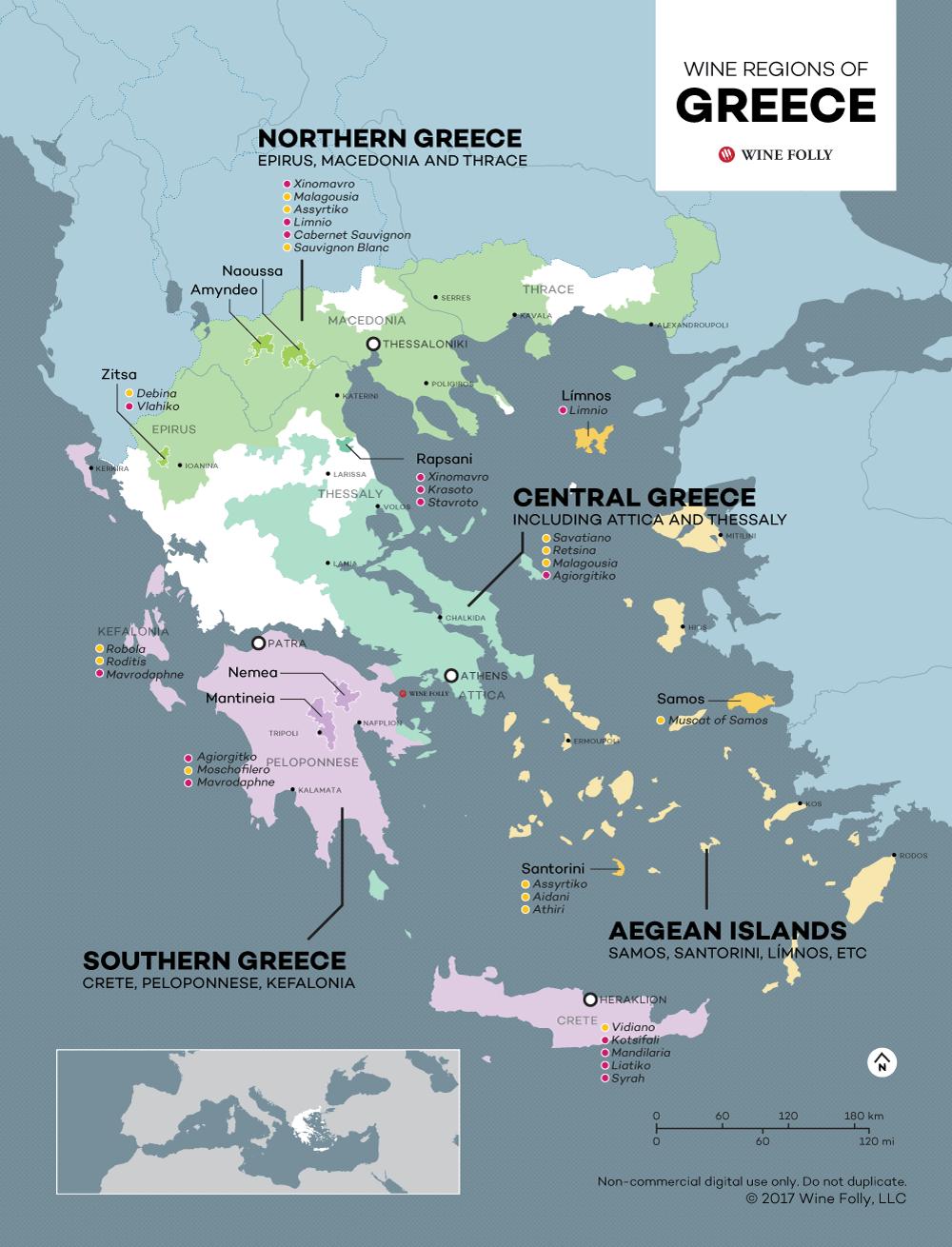 the wine regions of
