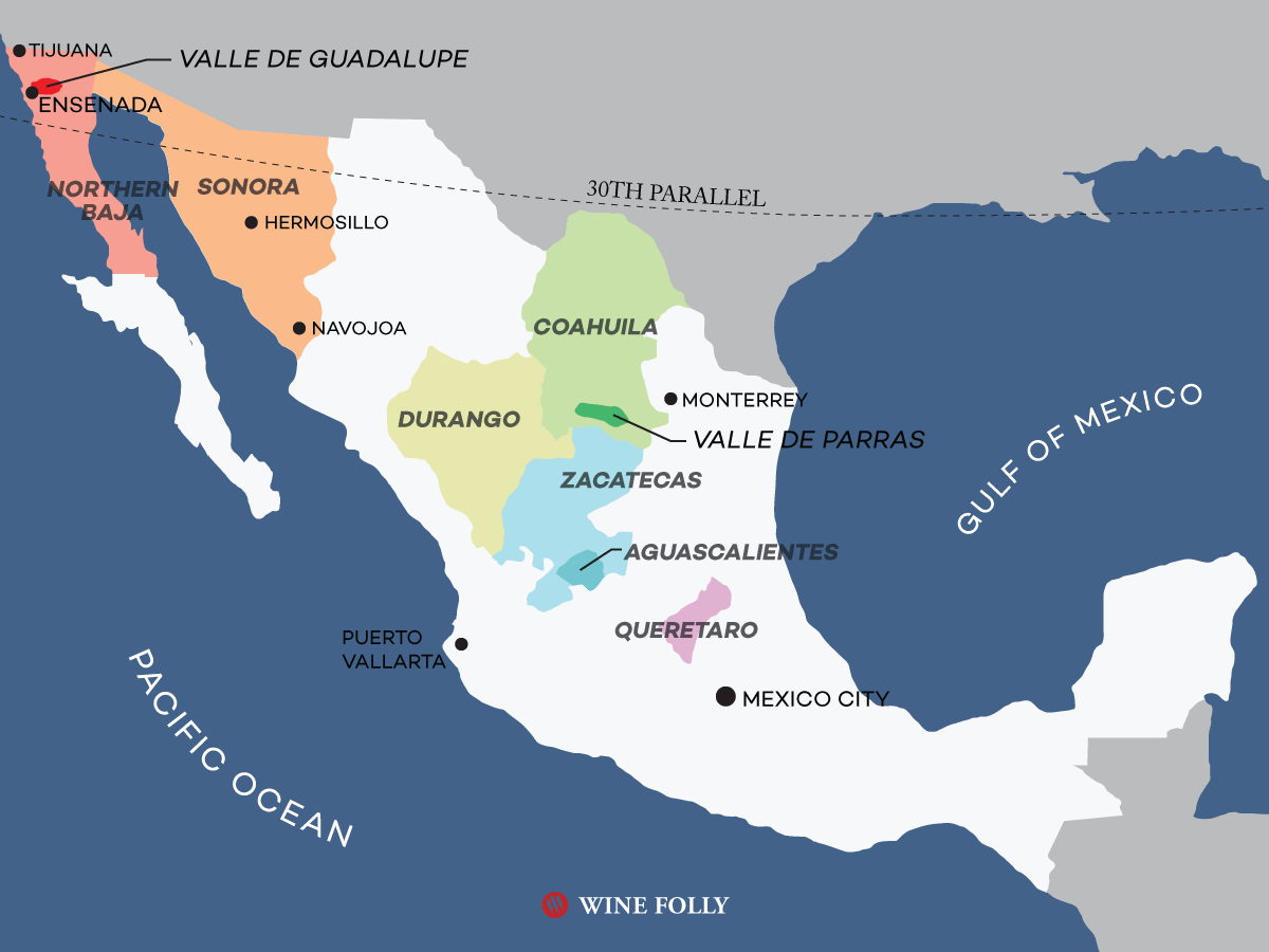 An Overview Of Mexican Wine Country