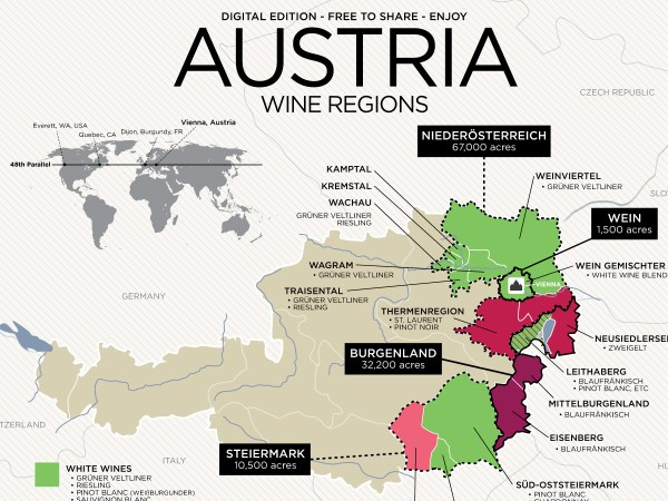 Get to Know Austrian Wine with Map Wine Folly