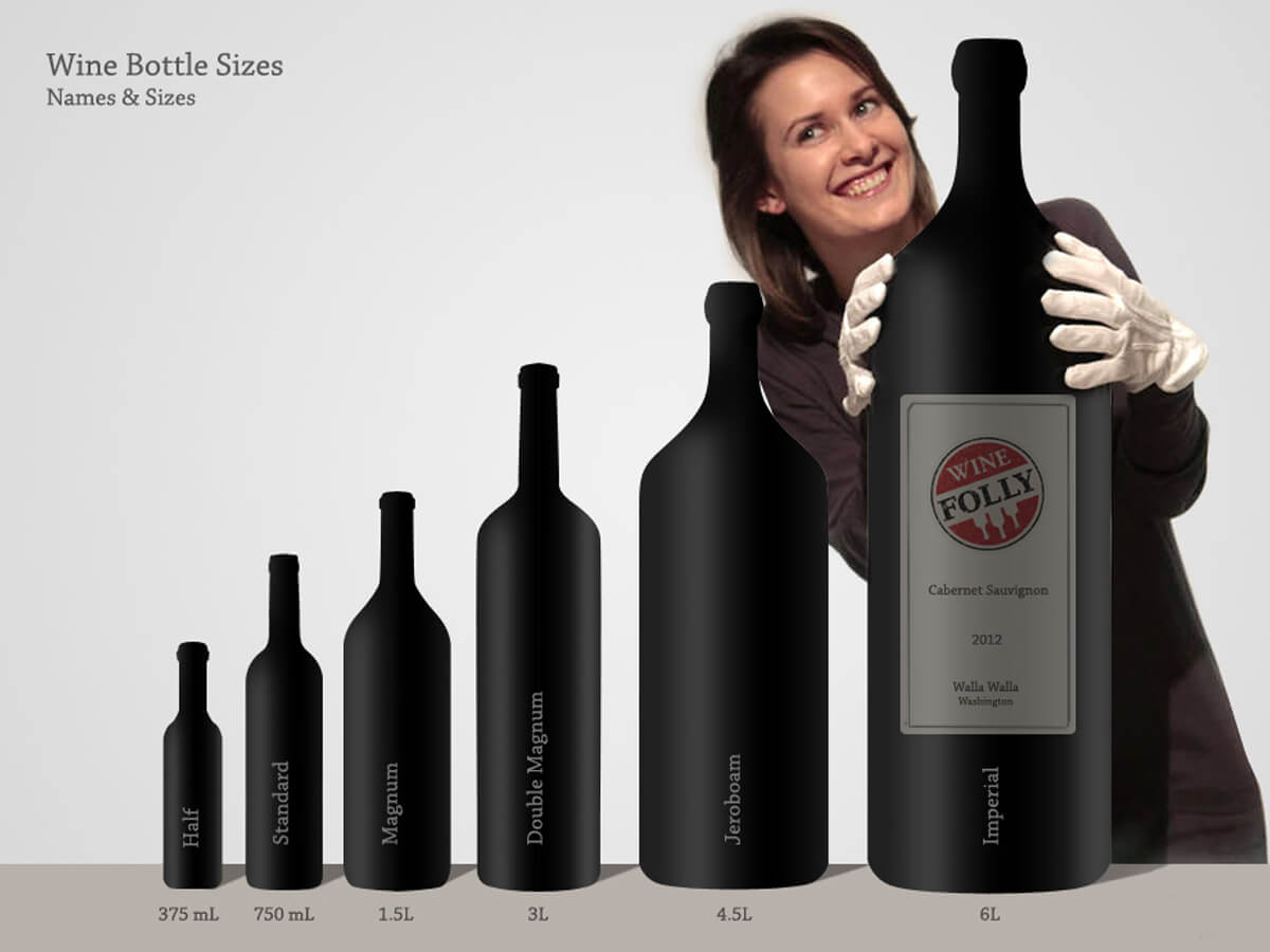 Guide To Wine Bottle Sizes Wine Folly