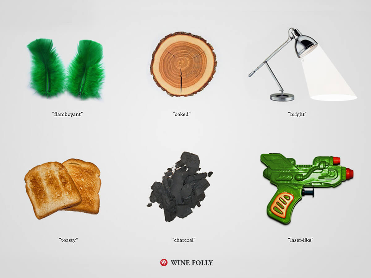 40 wine descriptions and what they