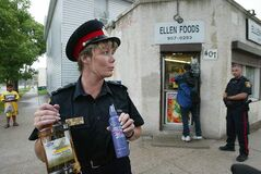 Const. Shelly Glover was the spokeswoman for the Winnipeg Police Service after several years of patrolling the streets.