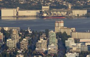 The Viterra terminal is seen in Burnaby, B.C, on May 5, 2012. THE CANADIAN PRESS/Jonathan Hayward