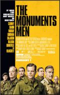 The Monuments Men poster geel
