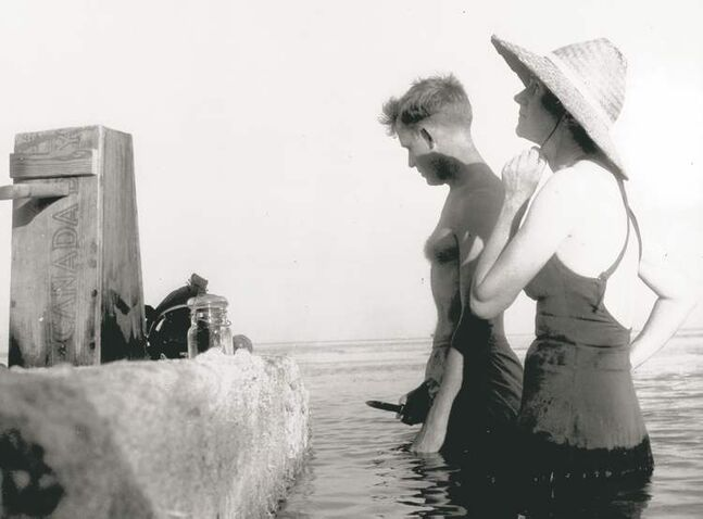 Rachel Carson with wildlife artist Bob Hines in the Florida Keys around 1955. Her book turns 50 this September, and the arguments over it continue to rage.