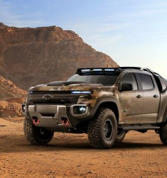 chevy s making a hydrogen powered pickup for the us army [ 3000 x 1991 Pixel ]