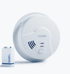 roost s smart fire alarm texts you if it smells smoke [ 2500 x 1875 Pixel ]