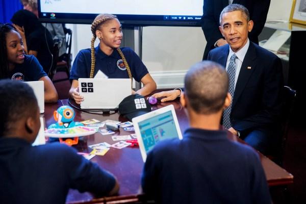 Obama Pledges 4 Billion Computer Science In Schools