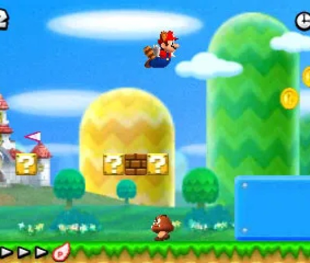 New Super Mario Bros 2 For The Nintendo Ds