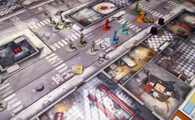 Zombicide App Digitally Enhances An Elaborate Board Game