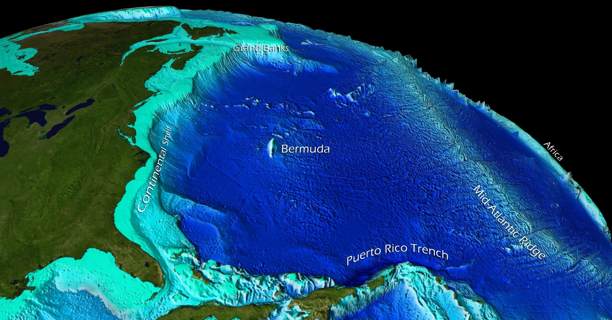 Seafloor Sunday 80 Satellite Mapping Of The Seafloor