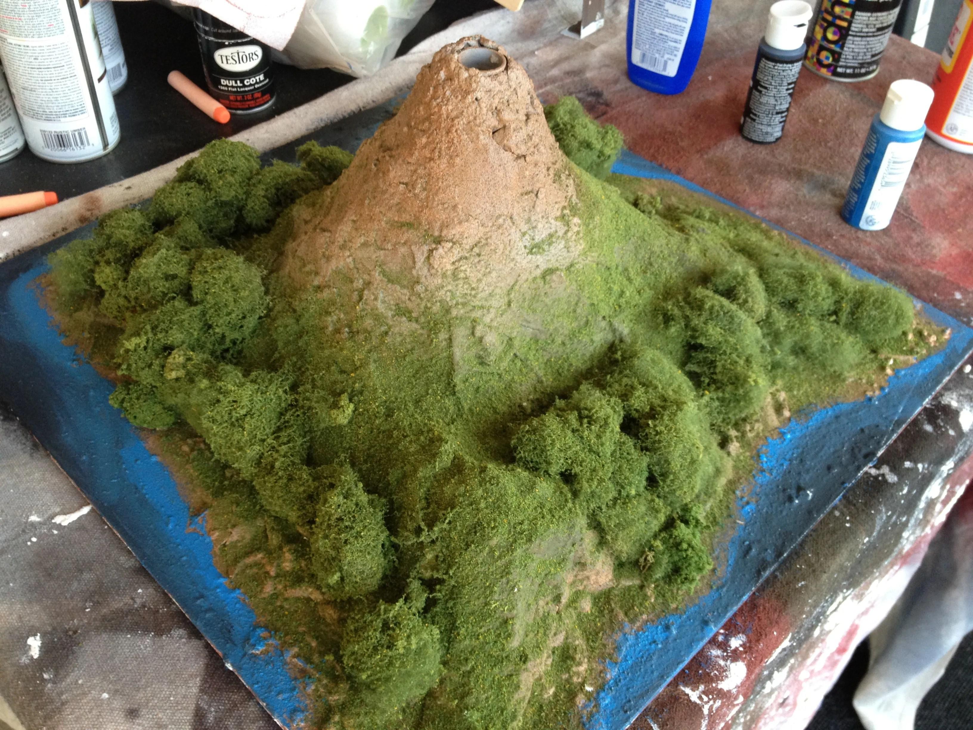 The Ubiquitous School Volcano Project