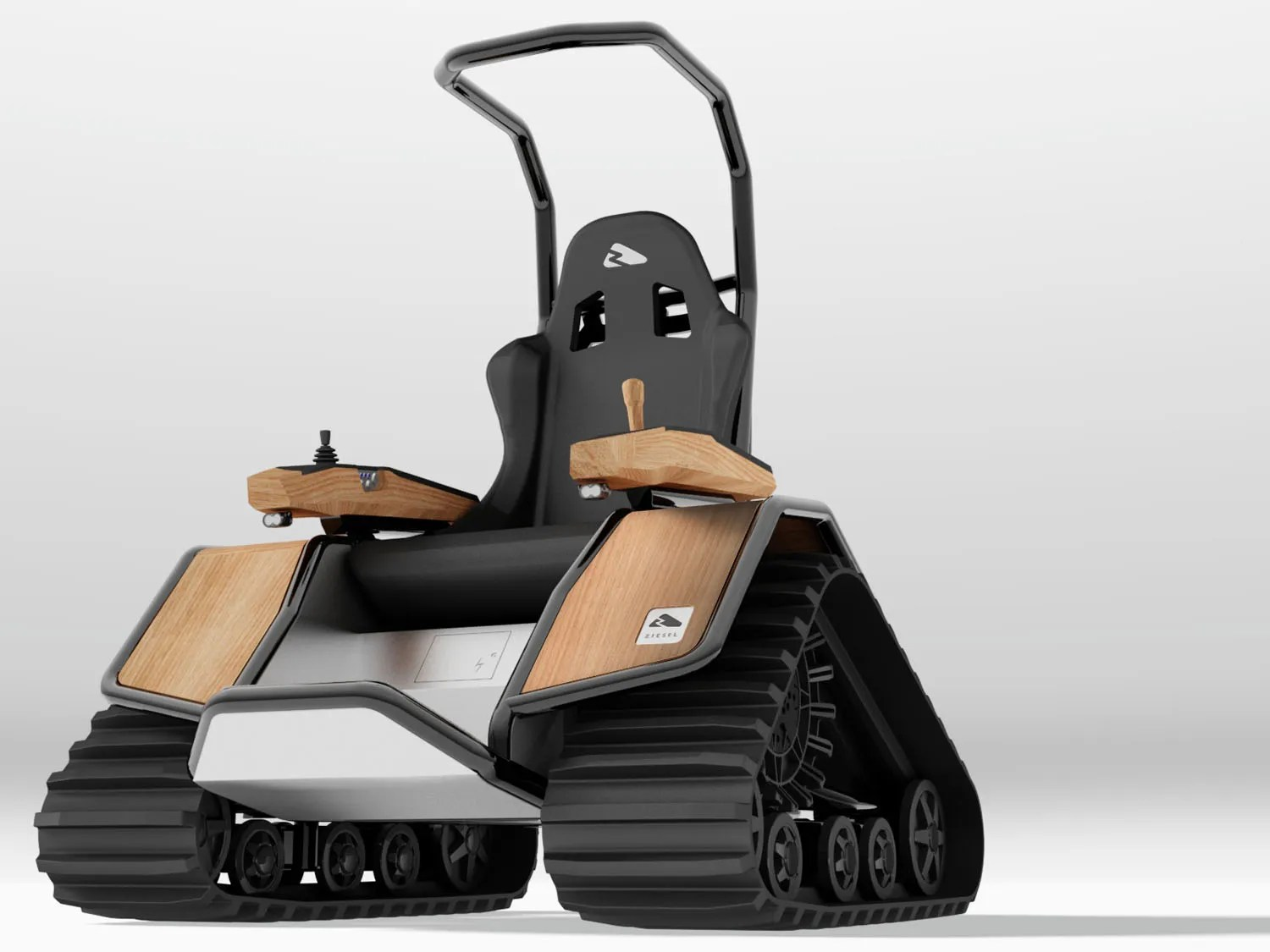 tank chair wheelchair perego high here s the electric hybrid you ve been waiting for