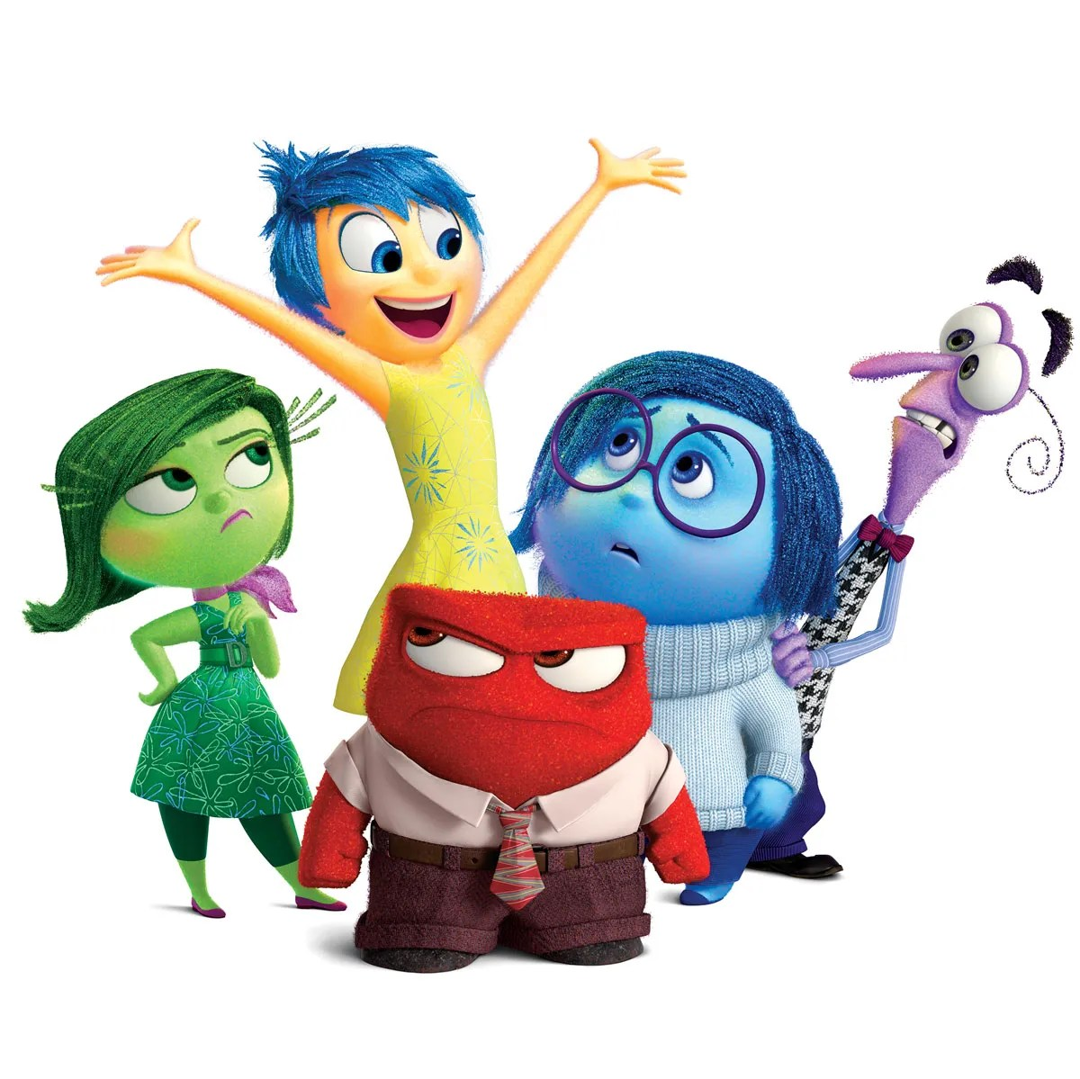 How Pixar Picked The 5 Core Emotions Of Inside Out S Star