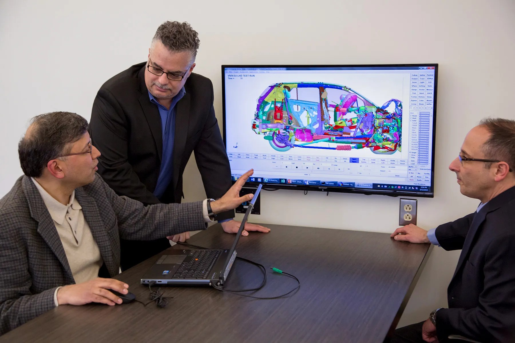 Gm's Using Simulated Crashes To Build Safer Cars  Wired
