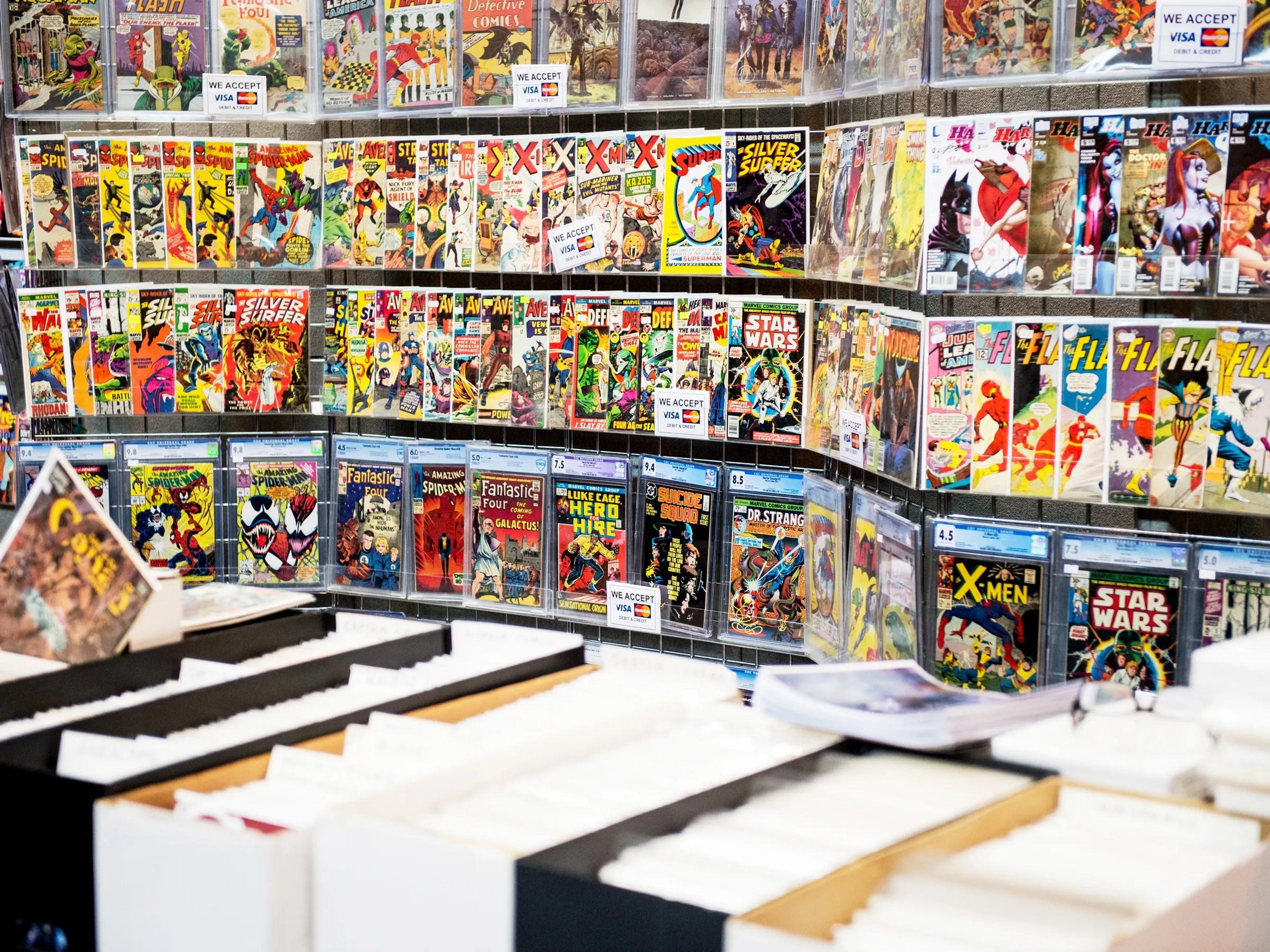 Fewer Comics At Comic Con Blame Comicononomics
