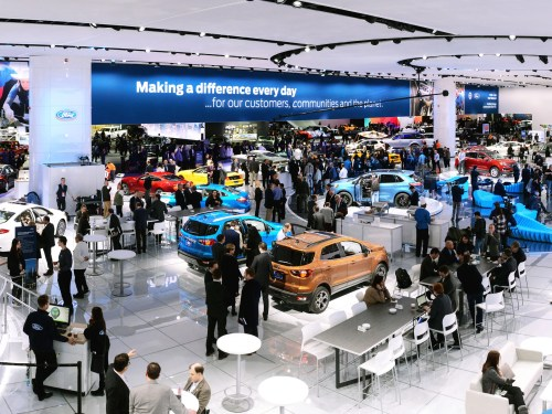 small resolution of at the north american international auto show in detroit ford announced it will invest 11 billion to develop a raft of new electric cars including a